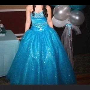 Sweet 16 ball gown